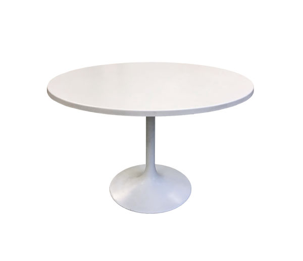 70's round dining table